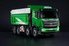 欧曼GTL 400马力 8X4 自卸车