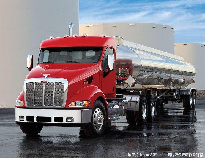 彼得比尔特重型卡车图片