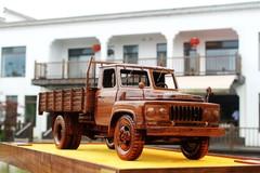 卡车模型实拍图
